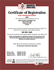 Certificate-ISO-2558